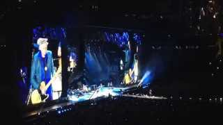 All Down The Line. Rolling Stones, San Diego, Petco Park. 2015-05-24. full song.