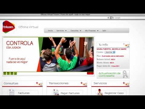 tricom oficina virtual youtube