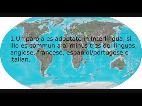 Presentation De Interlingua