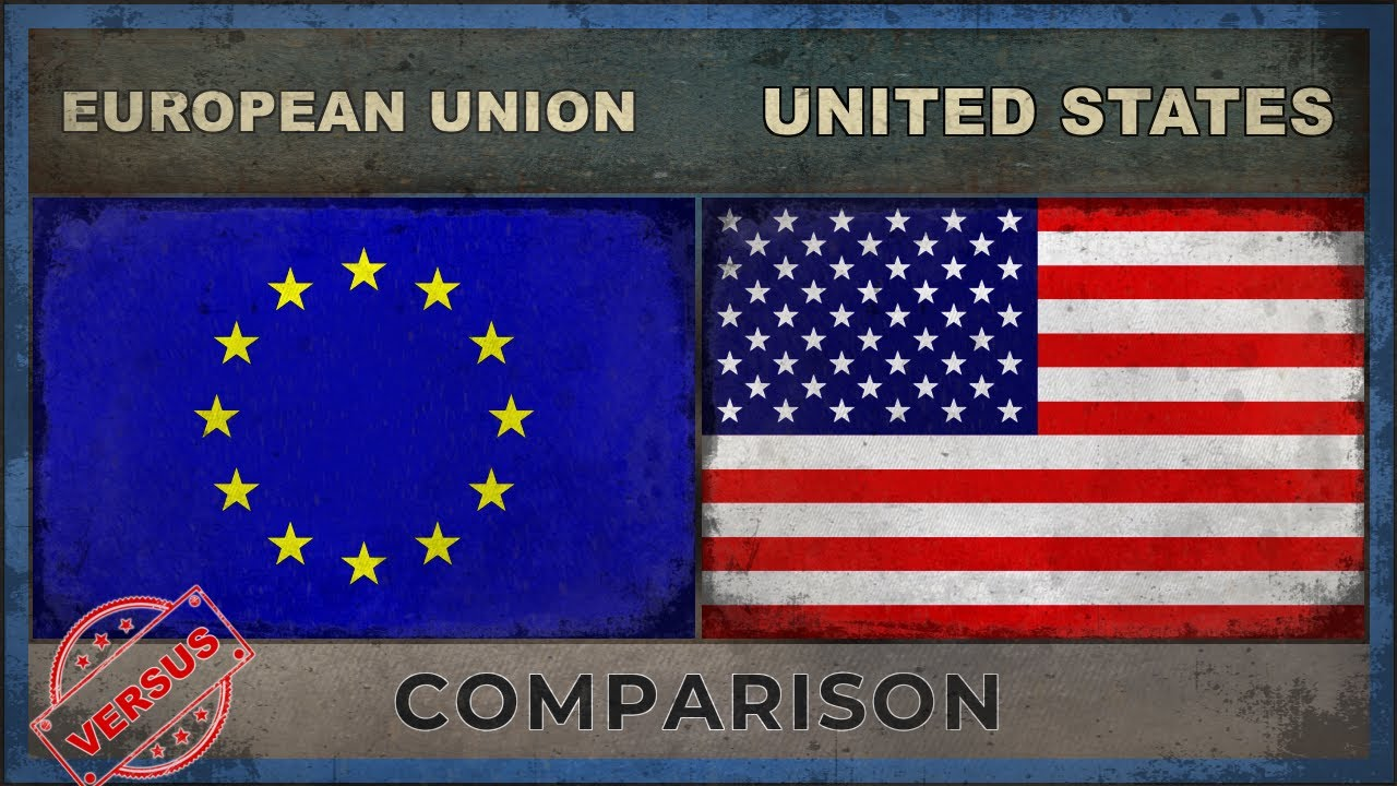 bffd85e79a5a1 EUROPEAN UNION vs UNITED STATES | Military Power Ranking [2018]