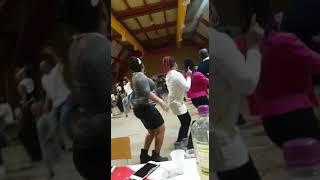 R. Polivalente -les Togolais du Luxembourg dansent Démarche à la canard au reveillon 2018