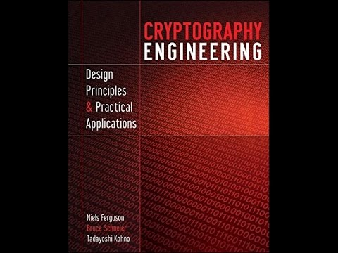 Cryptography Engineering Design Principles And Practical Applications Pdf