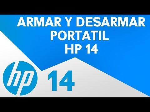 Desarmar portatil HP14 | Cambiar componentes HP 14 | Cambiar partes Portatil HP