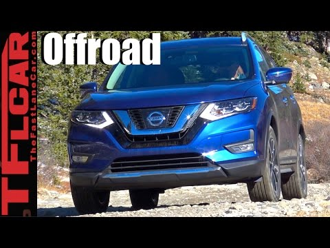 2017 Nissan Rogue Off-Road Review: Can the Rogue Tackle Rocks, Dirt & Snow?