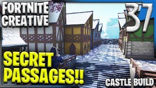 SECRET PASSAGES & MORE BUILDINGS! | Fortnite Creative Building E37