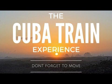 Taking a Train in Cuba