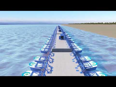 Eco Wave Power Mexico: Recorrido Eco Wave Manzanillo illustration
