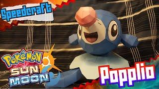 Pokemon Sun & Moon Papercraft ~ Popplio ~