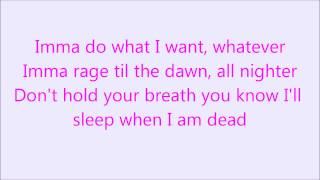 Krewella - Live For The Night [Lyrics]