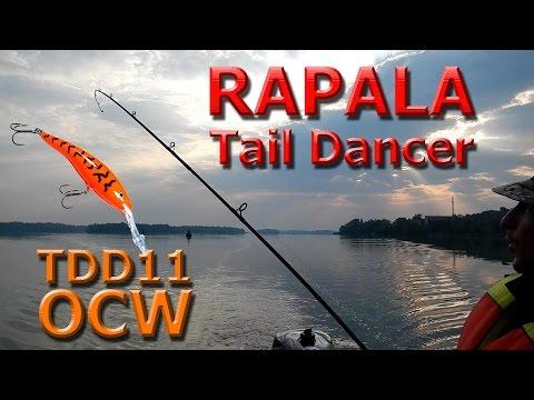 "Rapala Tail Dancer (11 см) OCW "" Морковь "". Видео обзор."