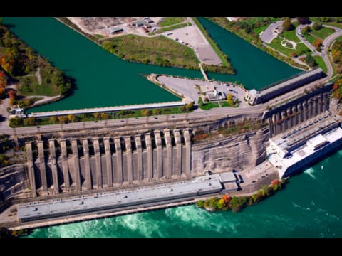 Niagara Hydroelectric Power - Mega Project Harnessing The Po