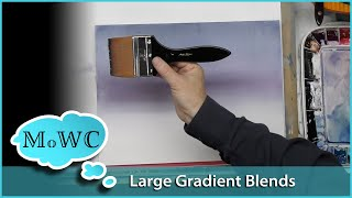 Better Large Scale Gradient Blends in Watercolor