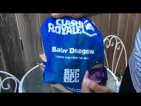 Clash Royale Baby Dragon Unboxing