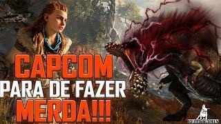 Monster Hunter World - CAPCOM PARA DE FAZER MERDA!