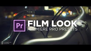 Film Look Tutorial with free Preset for 🎬 Premiere Pro by Chung Dha