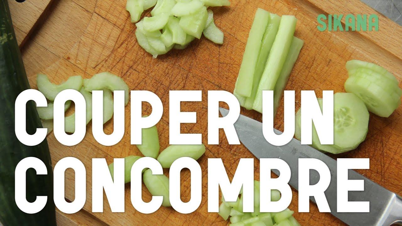 couper un concombre cuisiner des l 233 gumes