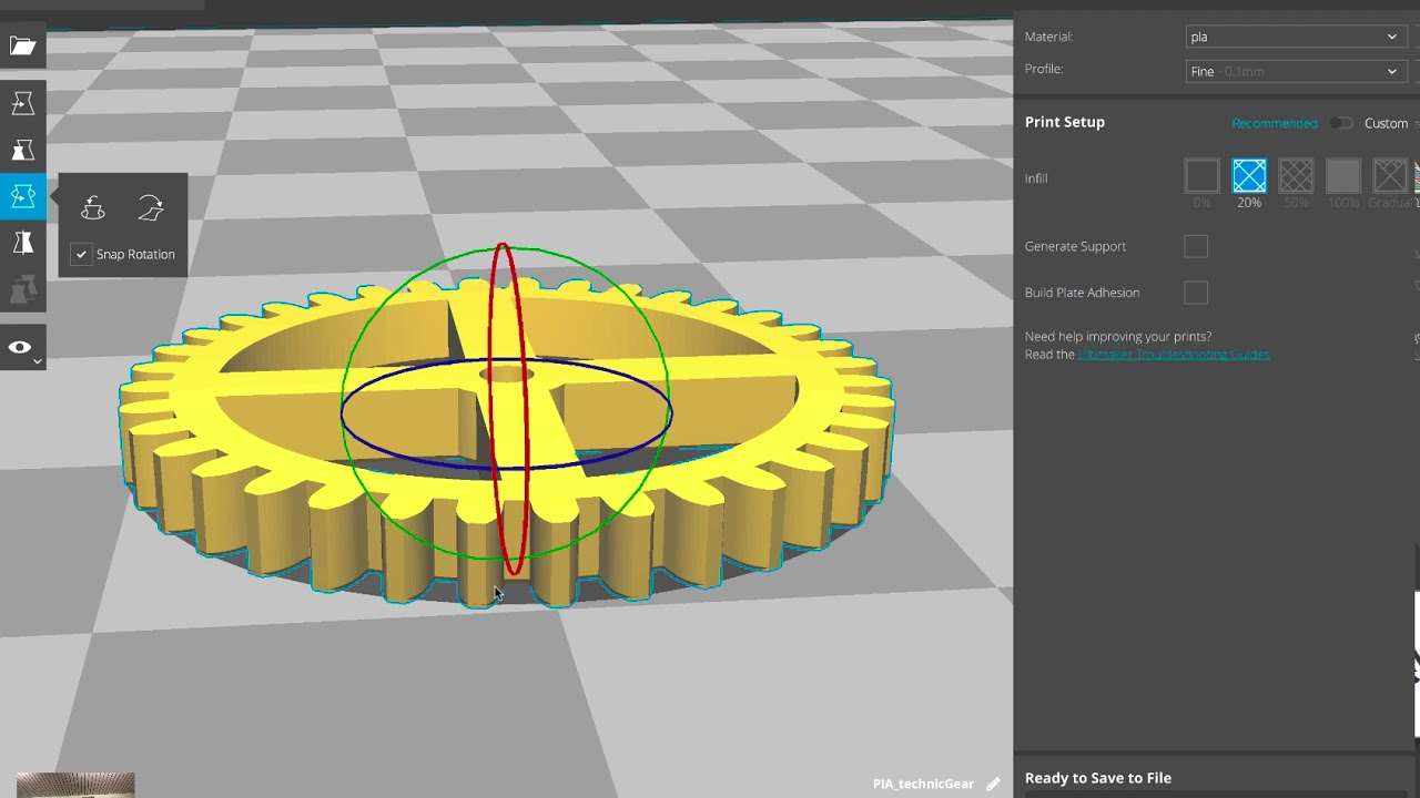Setting up Cura for use with Anycubic Printers