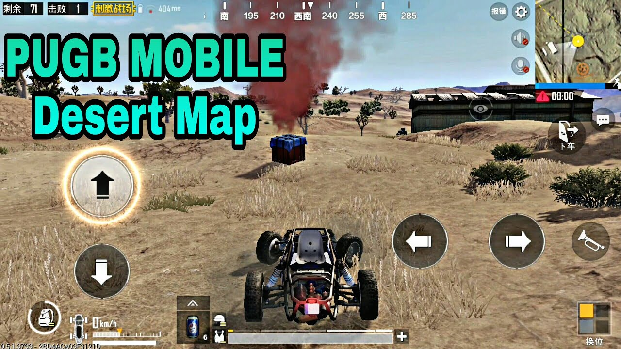 Sanhok Map 0 8 6 Ultra Graphics Gameplay: Miramar Desert Map PUGB MOBILE Android HD Hight Graphics