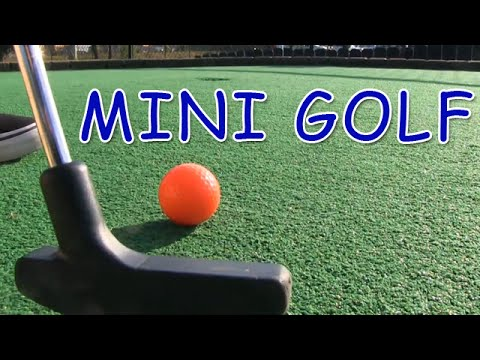 Mini Golf Lets Play For Real Youtube