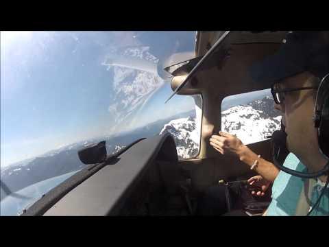 Seattle / Mt. Rainier / Mountain Flying / KRNT-21W-KPAE-KRNT