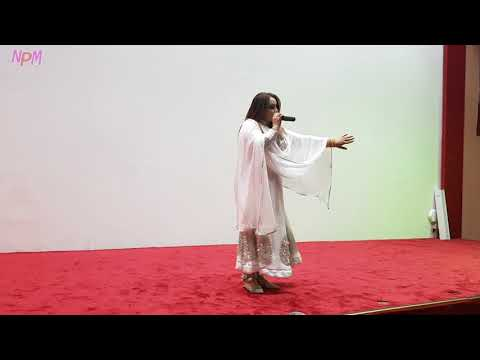Nadia Gul New song meda meda Qatar show 12/2017