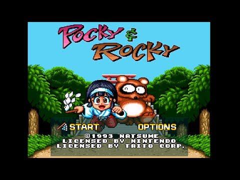 Pocky & Rocky SNES - Longplay HD