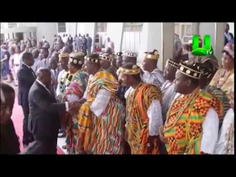 Rousing welcome ushers Prez. Akufo-Addo To Togo
