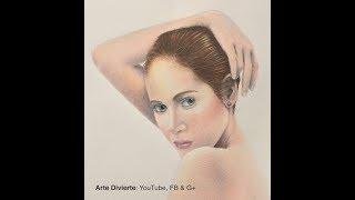 Cómo dibujar piel con lápices de colores - Narrado