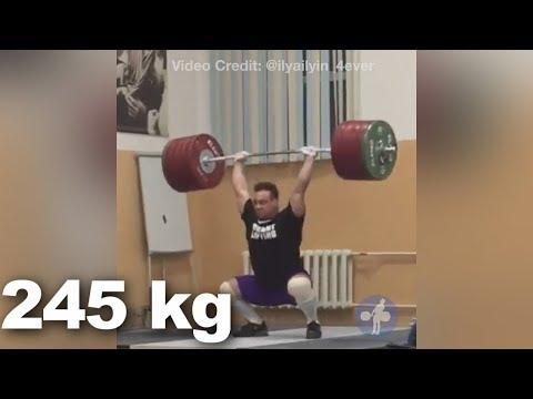 Ilya Ilyin @104 - Olympic Weightlifting Training