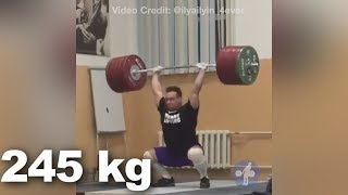 Ilya Ilyin @104 - Olympic Weightlifting Training