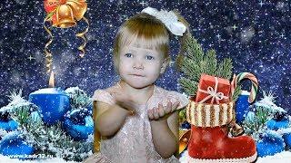 КЛИП в 2D слайд шоу видео съёмка новогоднего выпускного утренника в детском саду