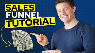 Sales Funnel Explained - Sales Funnel Tutorial For Beginners (Step By Step)