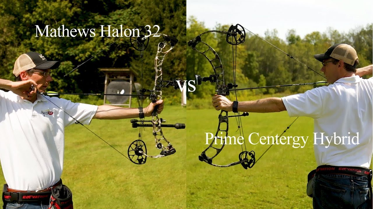 Mathews Halon 32 vs  Prime Centergy Hybrid