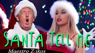 Ariana Grande - Santa Tell Me (cover by Donald Trump)