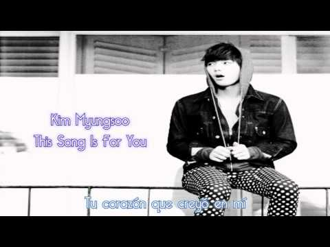 Kim Myungsoo - This Song Is For You (Live Audio) [Subtítulos en Español]