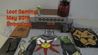 May 2016 LOOT GAMING Unboxing! | Dungeon Theme