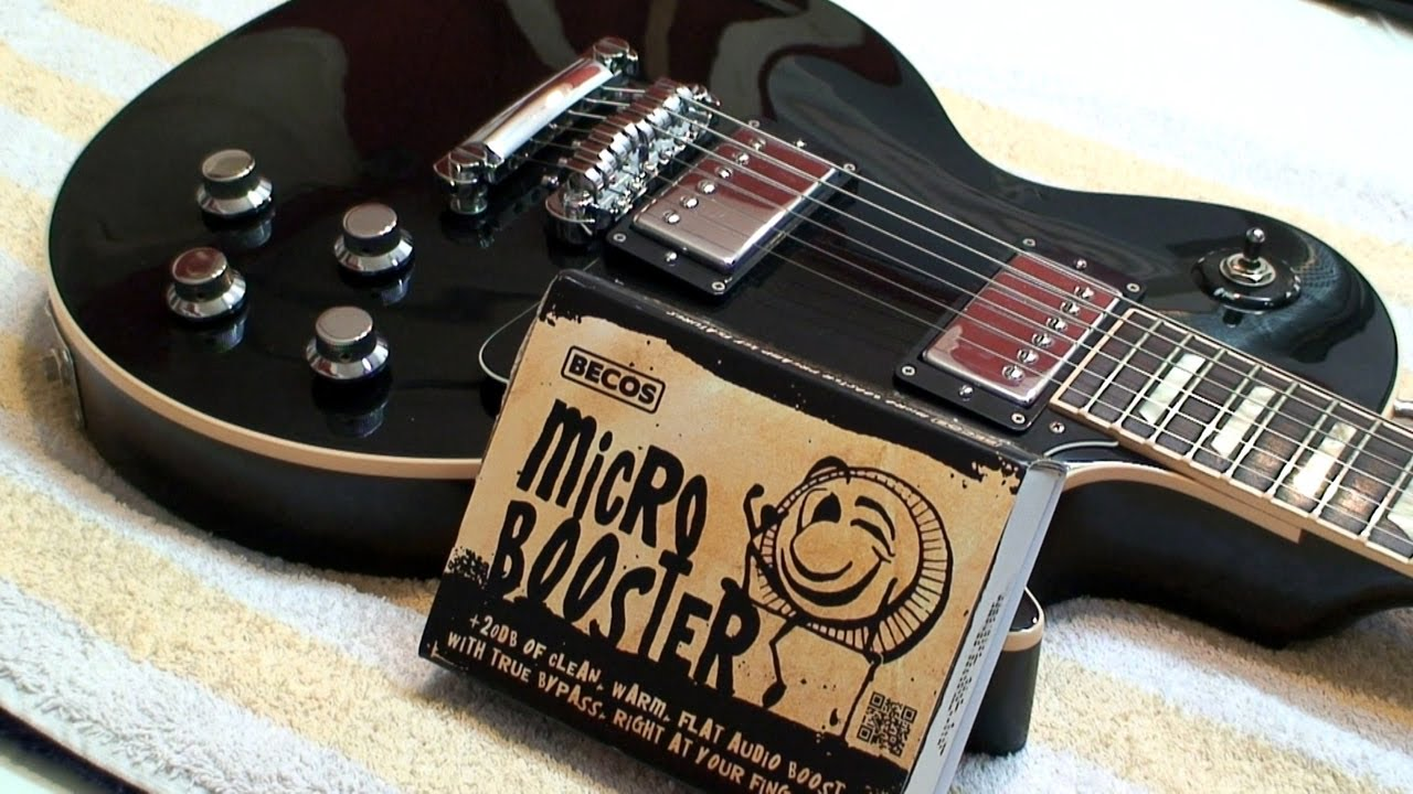 Gibson Les Paul Wiring Diagram Mercury Outboard Parts Installation Of Becos Micro Booster Onboard Preamp On Traditional Guitar - Youtube
