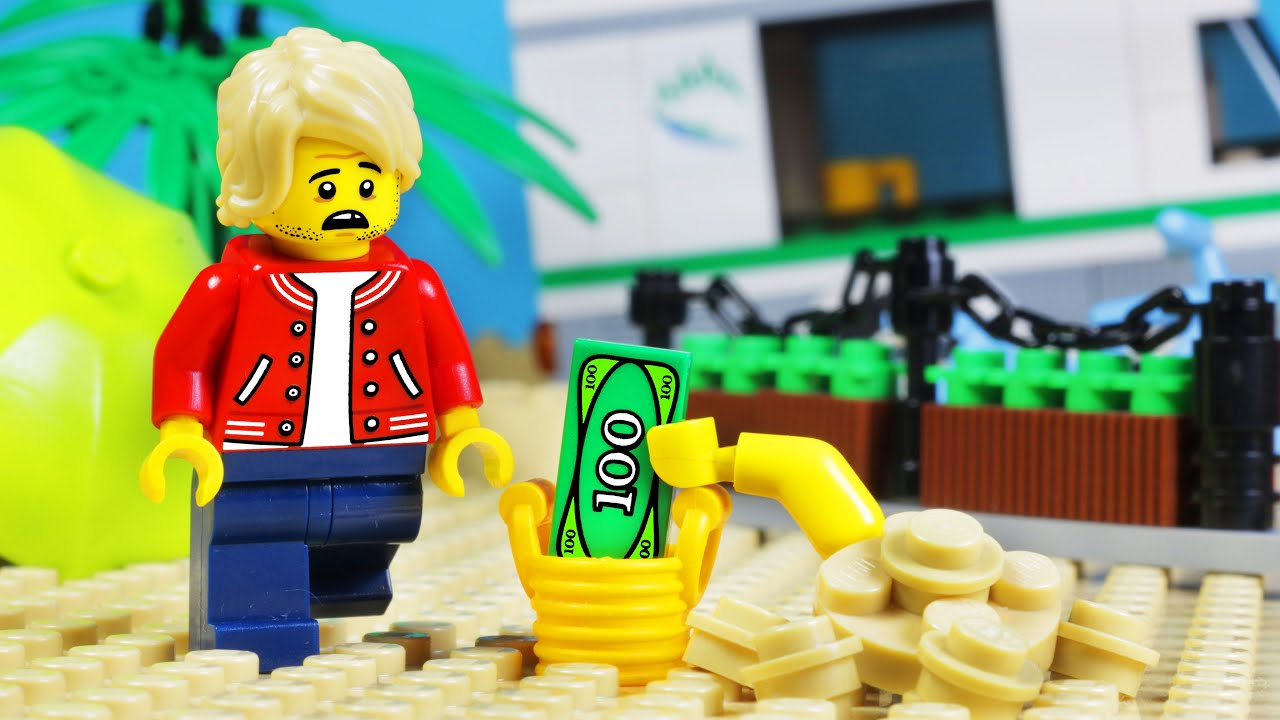 Lego City Beach - Sand Thief Robbery