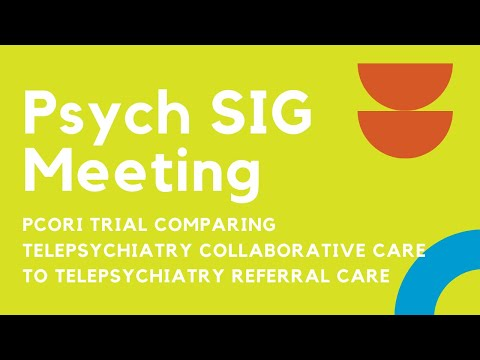 Psych SIG Meeting