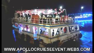 BOAT PARTY ON APOLLO CATAMARAN AT GATEWAY OF INDIA ORGANISED BY APOLLO CRUISE EVENT