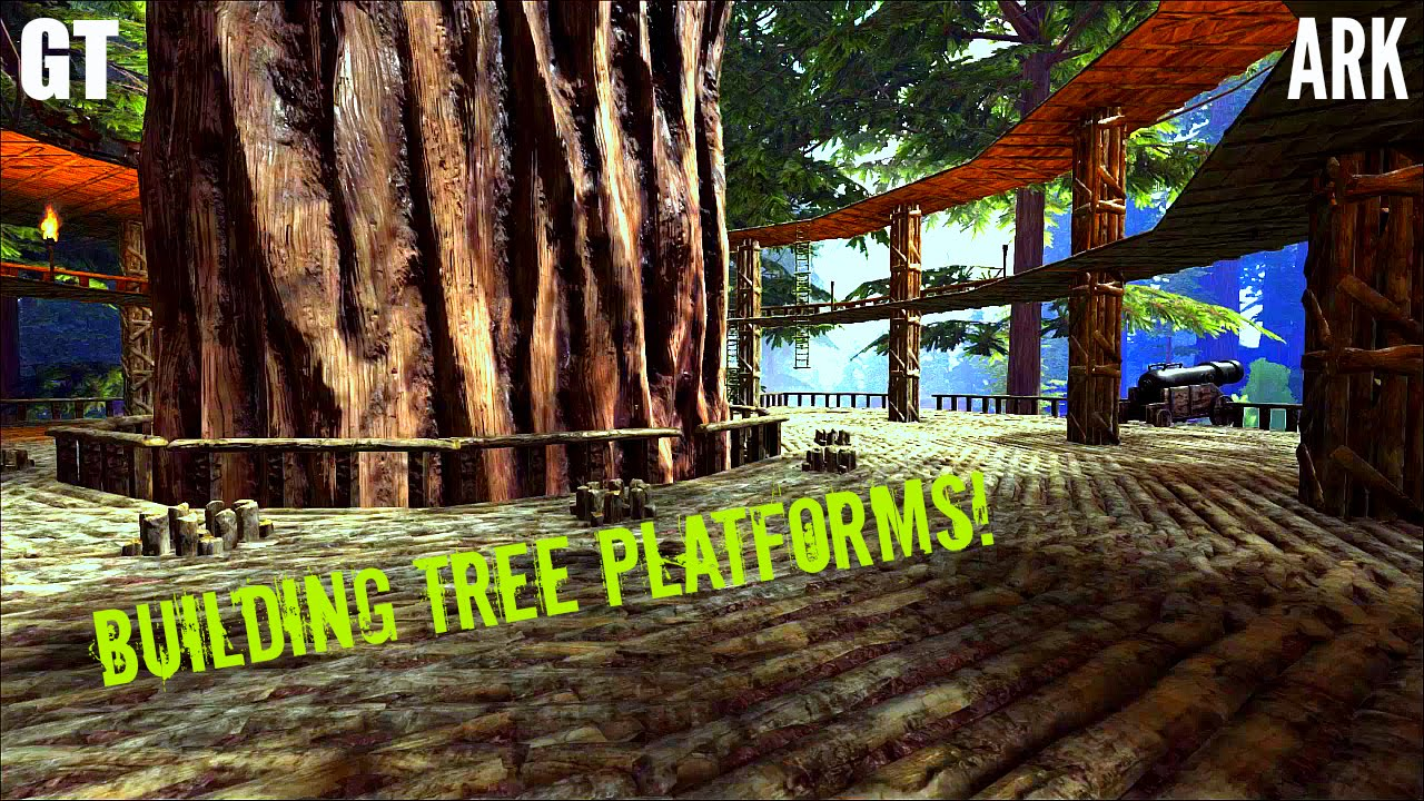 Tree Platforms Building Guide Tour And Tips Ark Survival Evolved