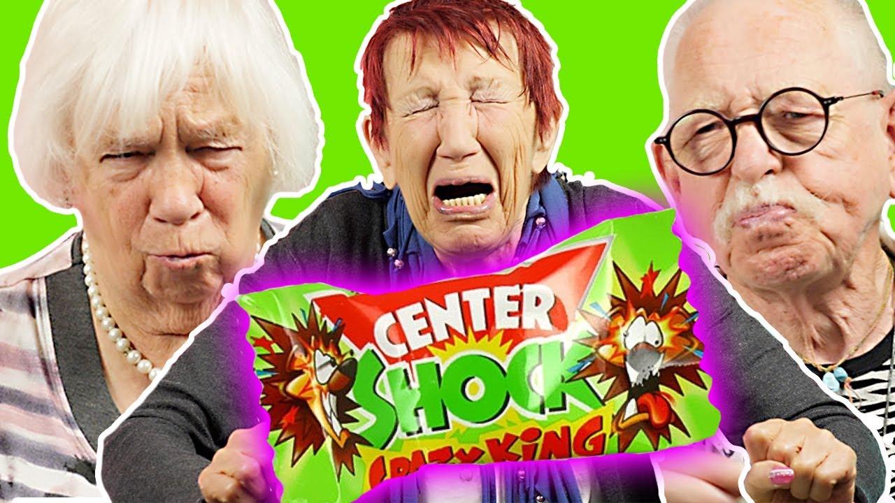 Senioren probieren zum ersten Mal CENTER SHOCK | Oma Geht Steil 🚀