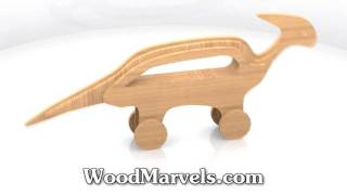 Parasaurolophus Cnc: 3d Assembly Animation (720hd)