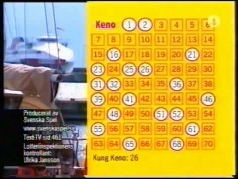 SvSpel: KENO-dragning 2005-06-02