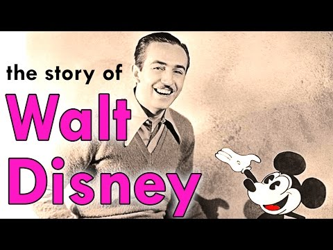 An animated Biography of the inspiring Walt Disney
