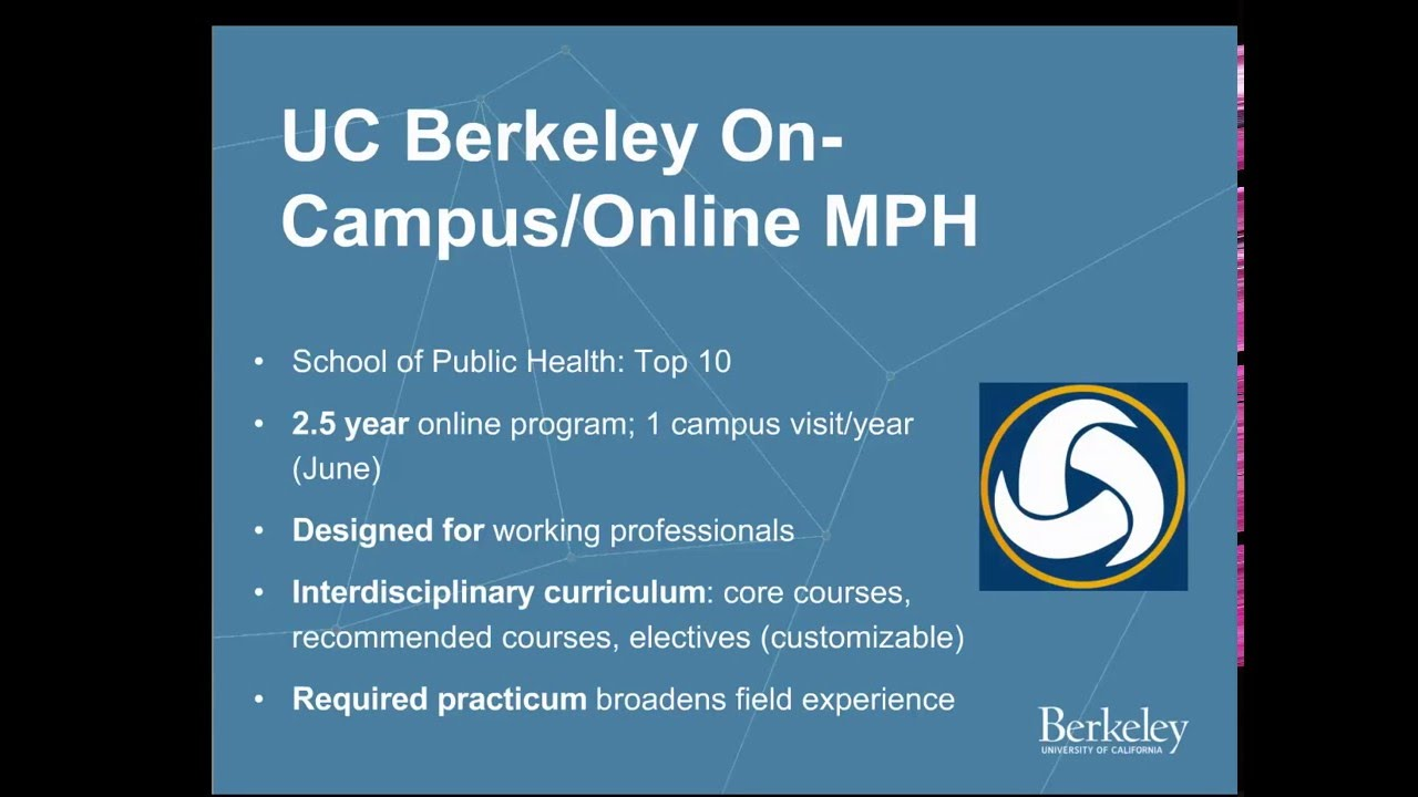 how to apply uc berkeley online masters in public health