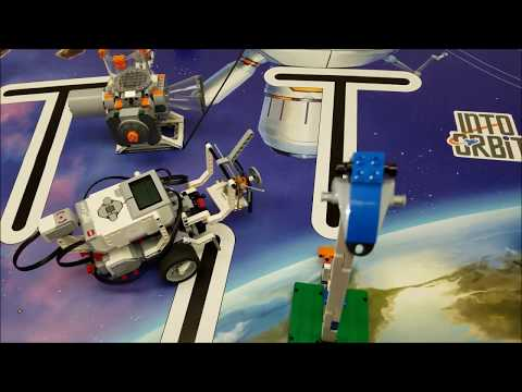 2018 First LEGO League Completing The Satellite Orbits Mission With Educator Robot