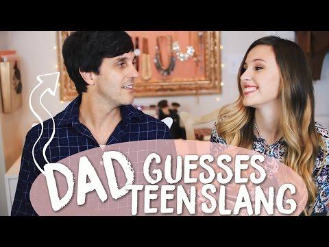 Dad Guesses Teen Internet Slang!!