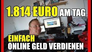 Online Geld verdienen | 3 Schritte-Formel - Wie Du 1.814 Euro am Tag online Geld verdienen kannst