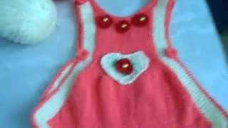 детский сарафан связанный спицами